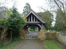 Duston, St Luke's lychgate, Northamptonshire © Rob Farrow